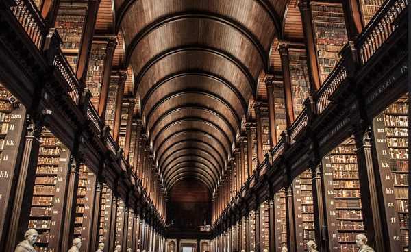 trinity college long room library dublin 2