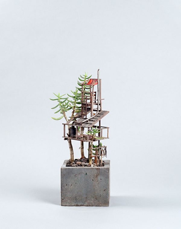case albero miniatura 6