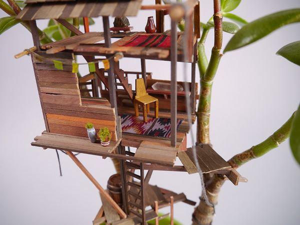 case albero miniatura 9