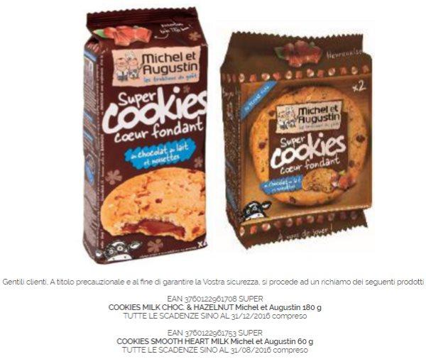 cookies ritirati