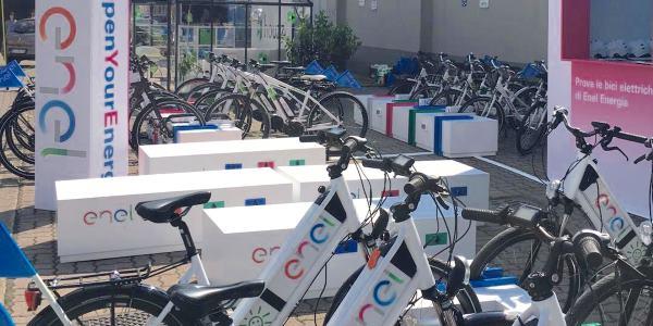enel bike sharing fuorisalone