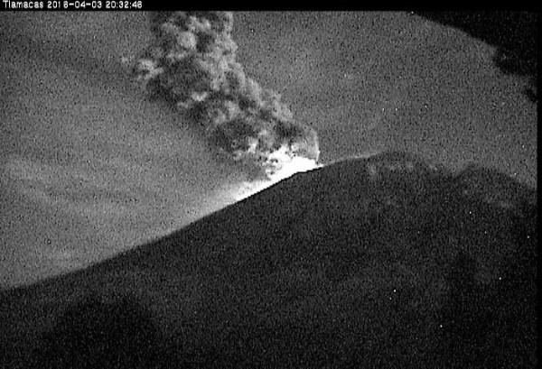 foto vulcano Messico1