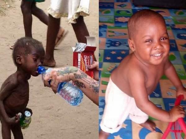 hope bambino nigeriano stregone