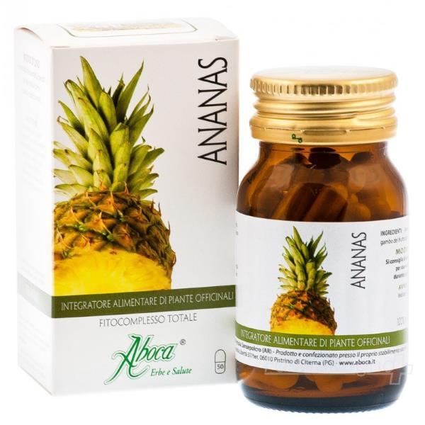 integratori ananas aboca