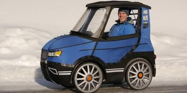 Podride La Bici Elettrica A Quattro Ruote Che Sembra Una Mini Auto