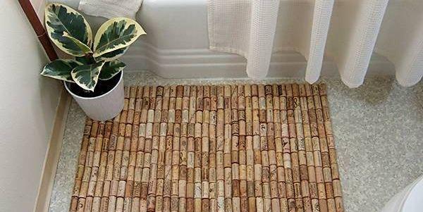 riciclo creativo tappeti tappetini