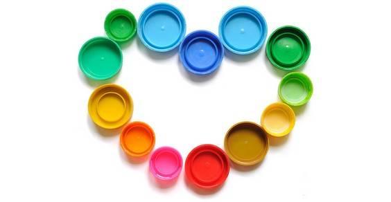 riciclo creativo tappi di bottiglia