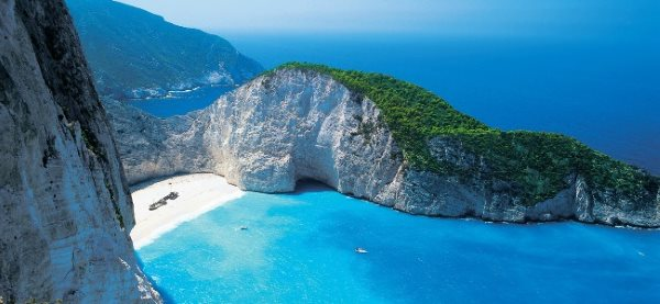 spiagge del relitto zante