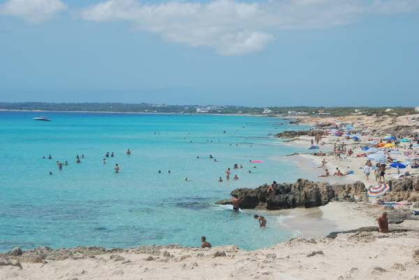 spiagge più belle formentera