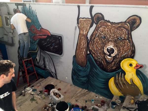 street art stazioni ferroviarie roma10