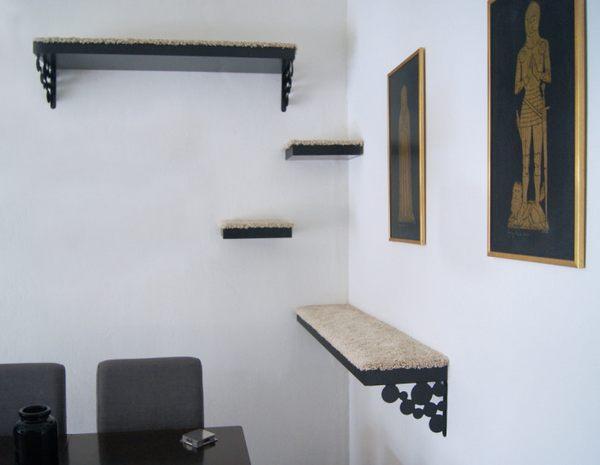 albero gatti minimalista
