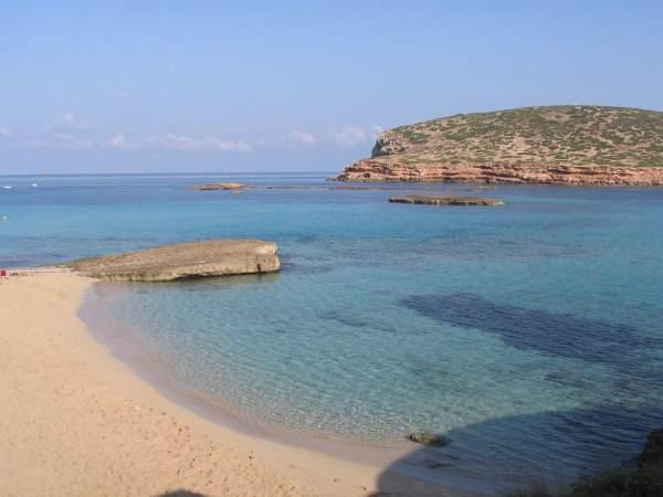 beach playa de comte ibiza