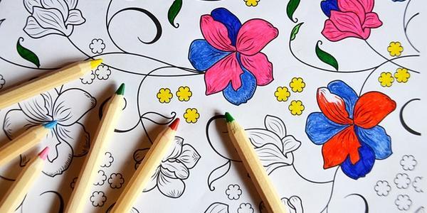 colorare i mandala 1