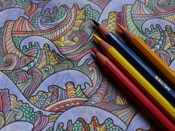 colorare i mandala 2