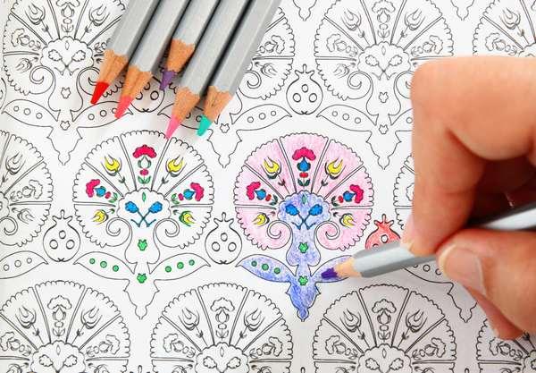 colorare i mandala 3