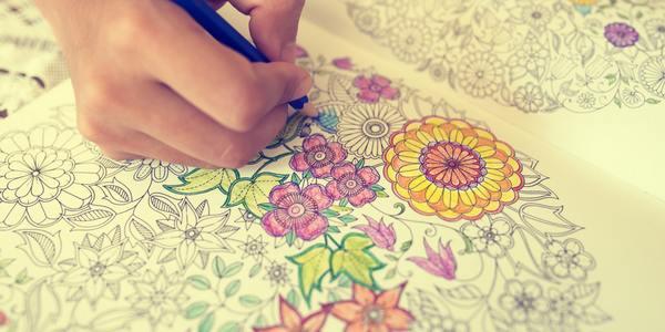 colorare mandala benefici bambini