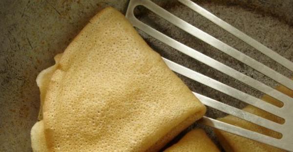 crepes al forno radicchio e ricotta