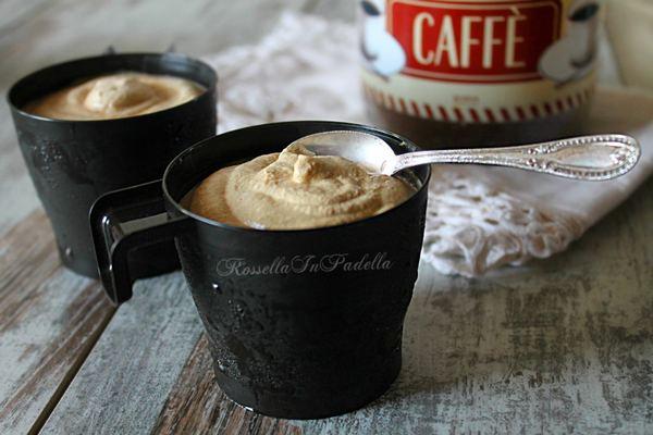 gelato al caffe senza gelatiera