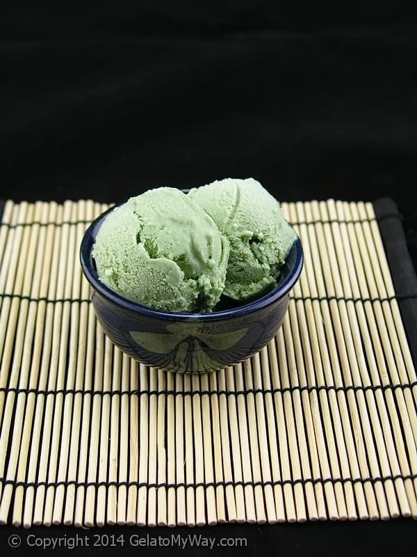 gelato alga spirulina