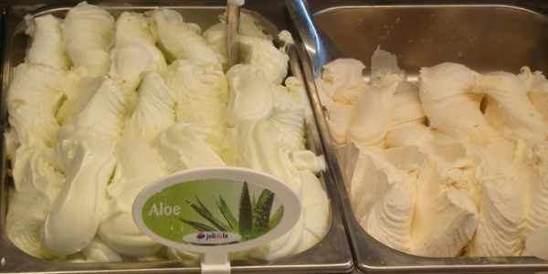gelato aloe vera