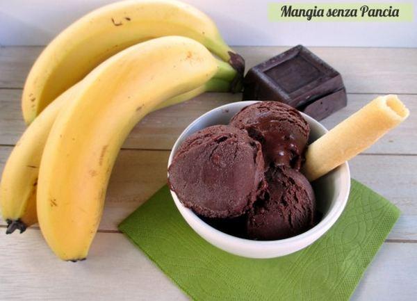 gelato senza gelatiera frutta surgelata
