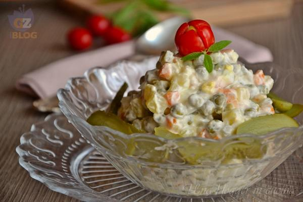 insalata russa allo yogurt ricetta light