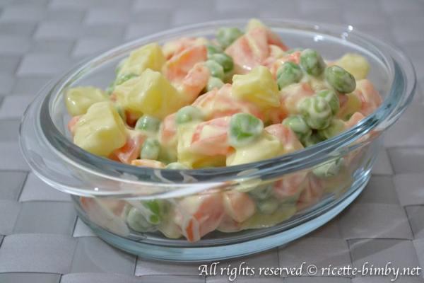 insalata russa con il bimby