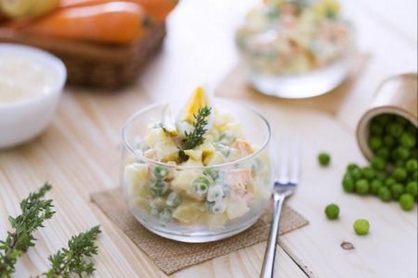 insalata russa maionese fatta in casa