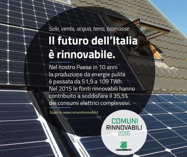 legambiente comuni rinnovabili
