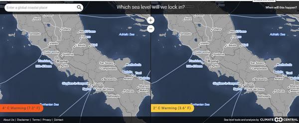 mappe italia sommersa