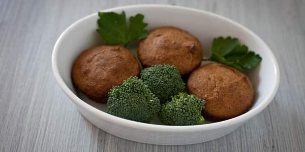 muffin ai broccoli farina di farro