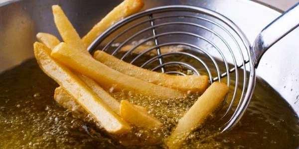 olio evo per friggere