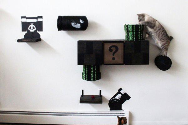 parete fai da te per gatti