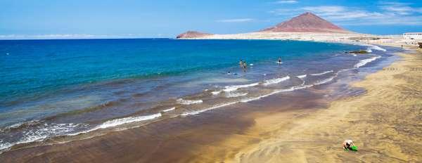 playa medano spiaggia tenerife
