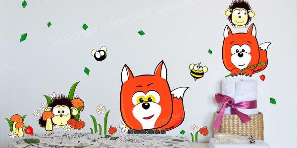 Adesivi Murali Low Cost.Adesivi Murali Stickers Colorati Per La Camera Dei Tuoi Bambini