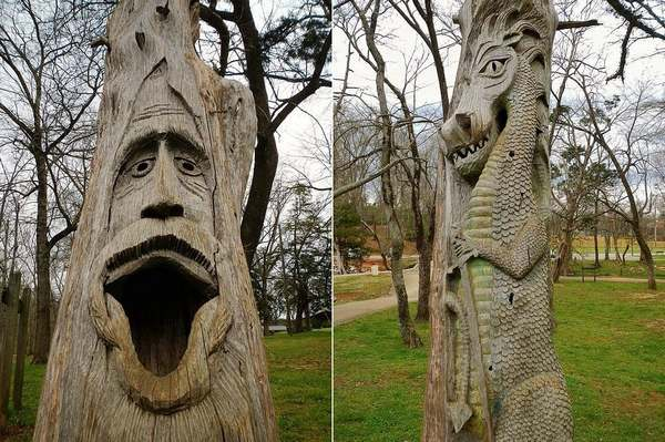 alberi intagliati alabama 2
