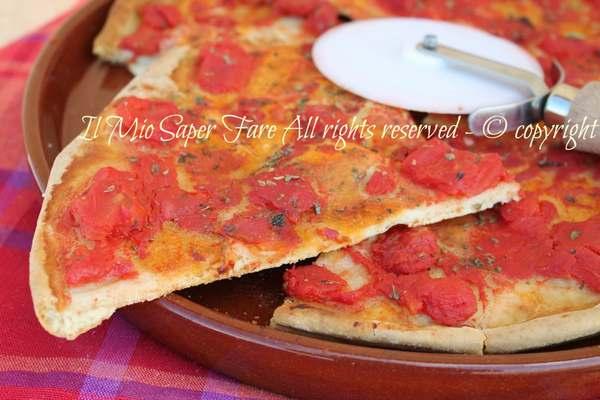 impasto pizza senza lievito
