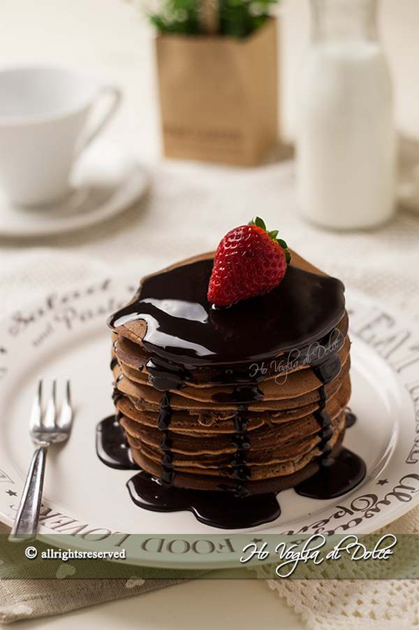pancake cioccolato