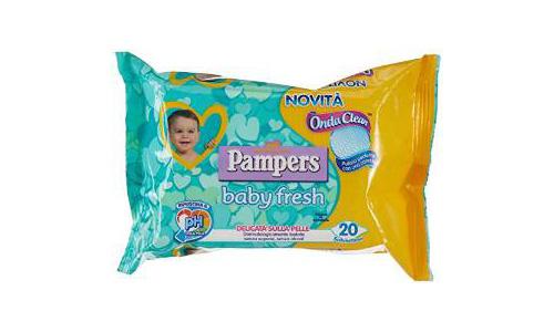 salviettine baby fresh pamp