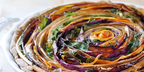 torte salate verdure a spirale
