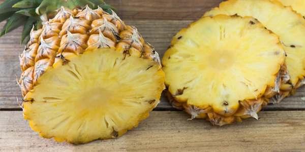 ananas prpèrieta calorie