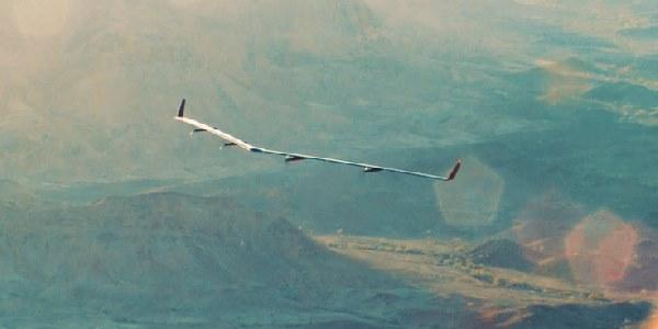 Drone Aquila test di volo