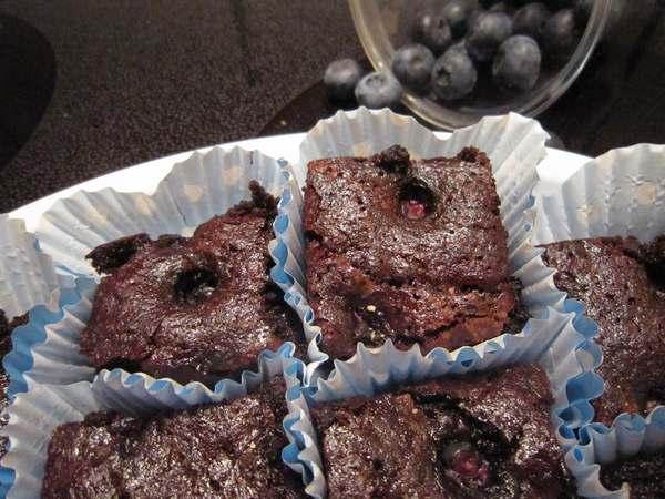 brownies ai mirtilli