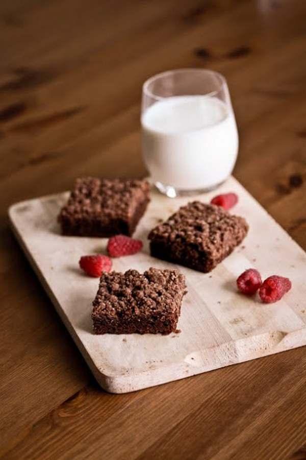brownies senza lievito