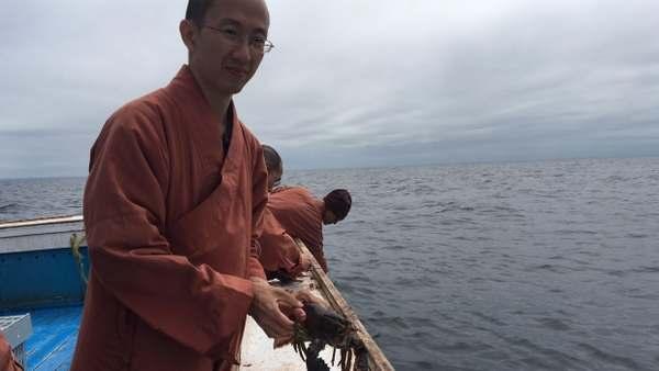 monaci buddisti aragoste 1