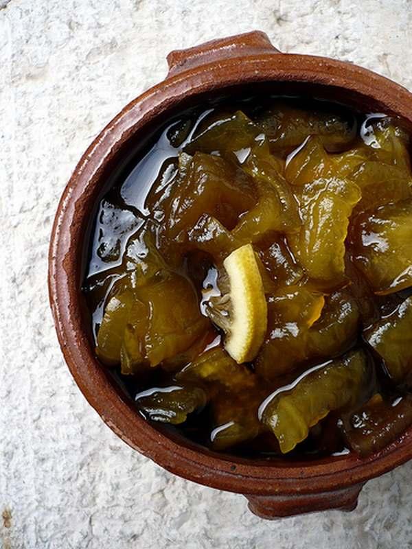 mostarda bucce anguria