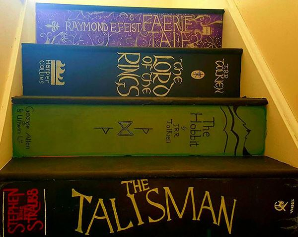 painted staircase book covers pippa branham 2
