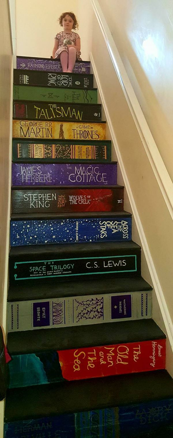 painted staircase book covers pippa branham 5