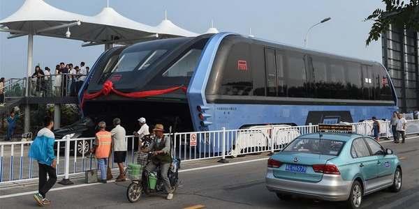 autobus solare cina