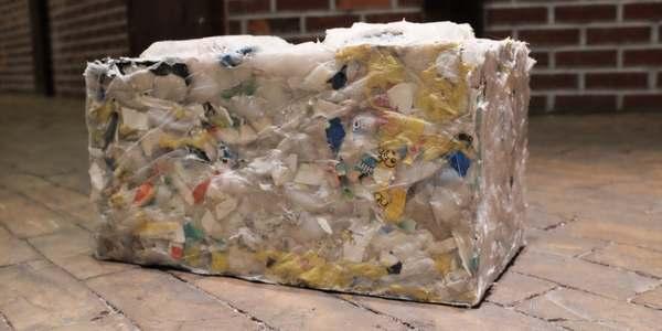 mattoni plastica oceani
